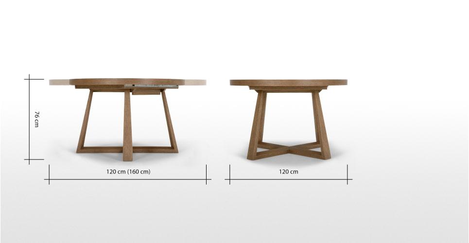 Uitschuifbare Eettafel 160 Cm.Doen Uitschuifbare Eettafel Donkergebeitst Eikenhout Doen Projecten